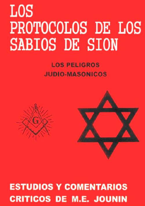 Portada Los protocolos de los sabios de Sion